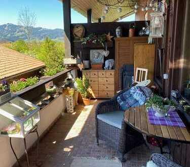 Smarte, ruhig gelegene 2-Zimmer-Wohnung in Sonthofen