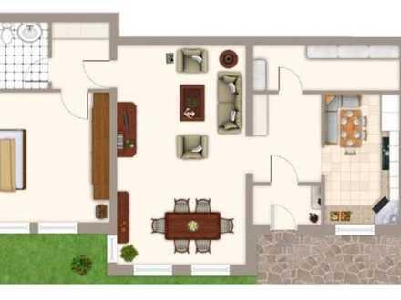 2-Zimmer-Wohnung mit Terrasse und EBK in Furtwangen