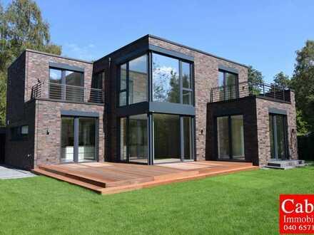Repräsentative 6 Zi. Rotklinker-Villa auf großem Grundstück in Hamburg Bergstedt