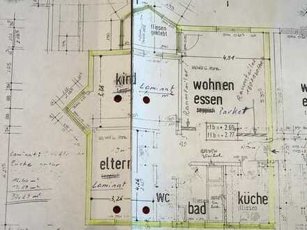 Gepflegte 3,5-Zimmer-Wohnung mit Balkon und Einbauküche in Wernau