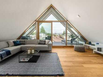 Dawonia - Exklusive Dachgeschosswohnung im Lehel