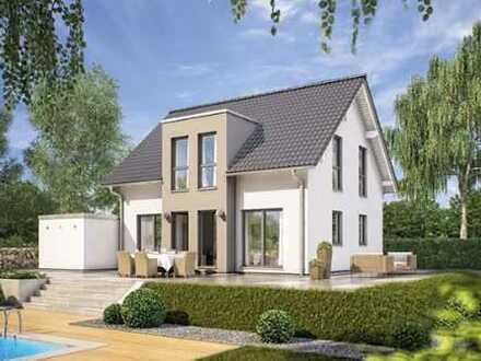 Einfamilienhaus+Garage ,ca. 131m2 Wfl., 598m2 Grundstück(auch als PremiumMietkaufvariante möglich)