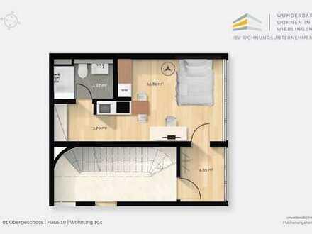 Helles 1-Zimmer-Raumwunder mit Einbauküche