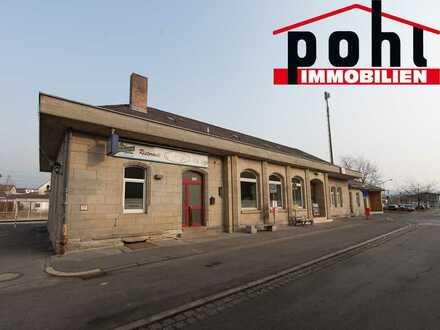 Bahnhof zu verkaufen! Solide Bauweise, voll vermietet!