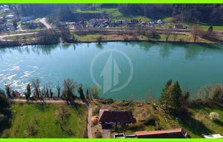 ⭐Excl. Grundstück am Rhein, Bootsrampe möglich - provisionsfrei