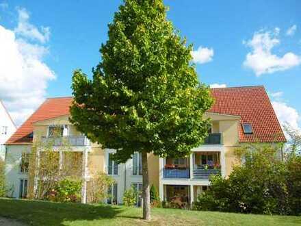 Idyllische 2-Zimmer-Dachgeschoss-Wohnung mit Balkon in Gransee