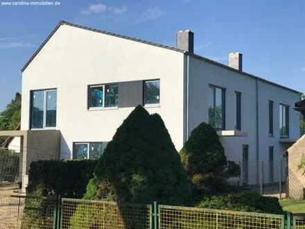 Modern, Exlusiv, Neubau!!! 3 Raum Wohnung ca. 85m² Wfl, Carport, Garten, Terrasse