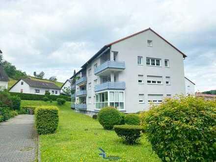 Sehr charmante, helle 4-Zimmer-Wohnung in Birkenau mit Balkon