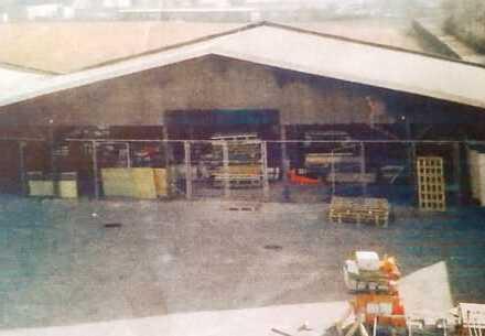 Große Lagerhalle in zentraler Lage von Riesa