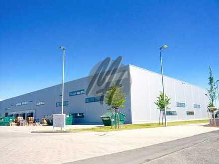 KEINE PROVISION ✓ Solitärobjekt mit Lagerflächen (4.000 m²) & Büroflächen (1.200 m²) zu vermieten