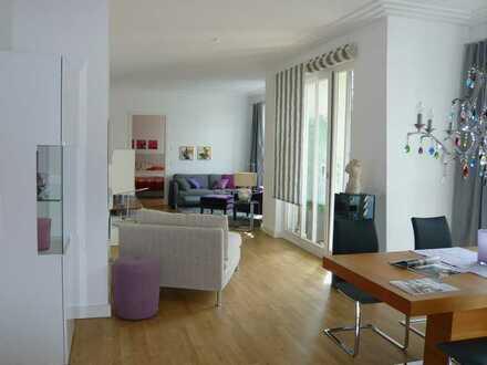 Traumhafte 90m² - 2 Zi-Wohnung mit EbK, Ankleide, Loggia, Spa, TG und Aufzug in den Klostergärten!