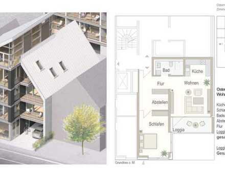 Erstbezug mit Einbauküche und Balkon: attraktive 2-Zimmer-Wohnung in Cloppenburger Innenstadt