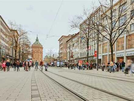 Kernsanierte Ladenflächen in der Mannheimer Innenstadt