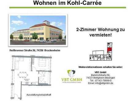 Pfiffige, barrierefreie 2-Zimmer Wohnung (Nr. 1.10 B)