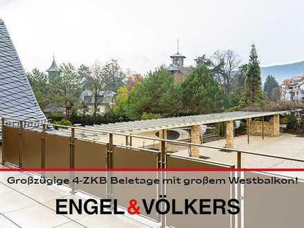 Deidesheim: Großzügige 4-ZKB Beletage mit großem Westbalkon!