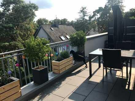 Sonnige Penthousewohnung in beliebter Villenlage in Mainz Gonsenheim zu vermieten!!!