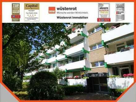 Helle, frisch renovierte 4 Zimmer-Wohnung mit zwei Balkonen in top gepflegtem Mehrfamilienhaus!