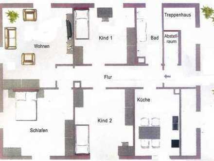 4-Zimmer-Wohnung mit Dachterrasse in Neuburg a.d. Donau
