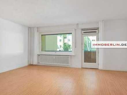 IMMOBERLIN: Sonnige Wohnung mit großer Westloggia und Stellplatz in sehr attraktiver Lage