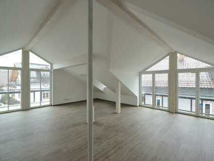 Attraktive, großzügige Dachgeschoss - Loftwohnung, Neubau
