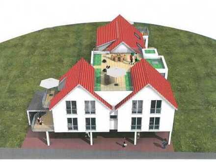Ein Wohntraum ! 3,5-Zimmer-Neubau-Eigentumswohnung mit Dachgarten in Remshalden-Geradstetten