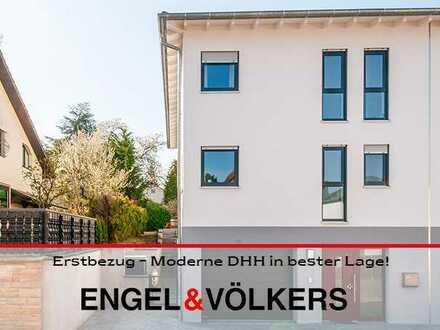 Wachenheim: Erstbezug – Moderne DHH in bester Lage mit schönem Garten und Garage!