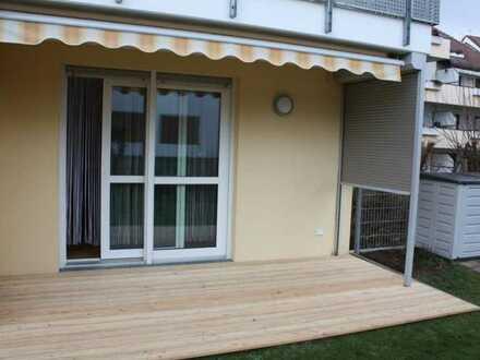Das ideale Seniorenapartment .... mit Terrasse und kleinem Gärtchen ...