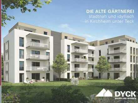 Großzügige 4-Zimmer-Wohnung mit repräsentativer Dachterrasse