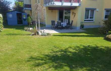 Exklusive, neuwertige 3-Zimmer-Gartenwohnung mit EBK in Königsbrunn