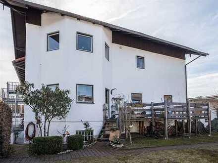 Großzügig, etwas unkonventionell wohnen mit Kamin in Oberhausen/Huglfing b. Weilheim