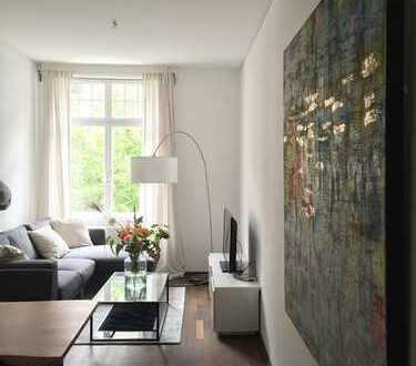 Hochwertig möblierte Design-Altbau Wohnung in Top Lage Bockenheim / Fußläufig Palmengarten / Westend