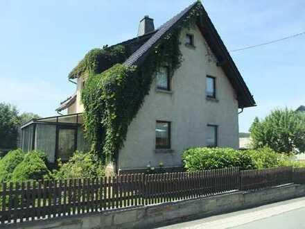 Einfamilienhaus mit Garage in Werda im Vogtland