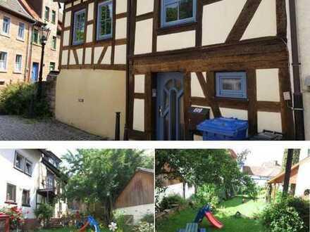 Liebevoll saniertes Fachwerkhaus mit schönem Garten in der Altstadt von Gelnhausen
