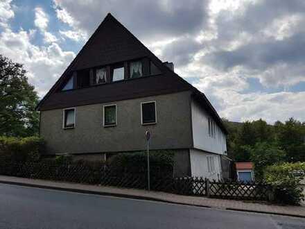 Renovierungsbedürftige 2-Zi.-Wohnung m. Gartenanteil in zentrumsnaher Wohnlage von Harzburg