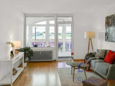 Besichtigung diesen Sonntag! Sonnige 4-Zimmer Wohnung mit idealem Schnitt & Wintergarten