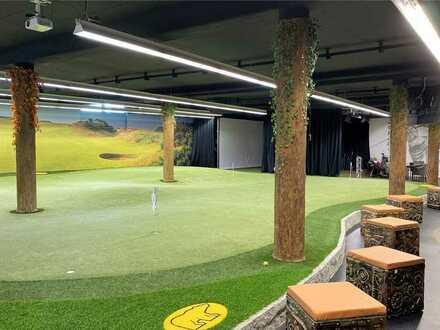 Indoor Golfhalle Pützchen - Golf bei jedem Wetter!