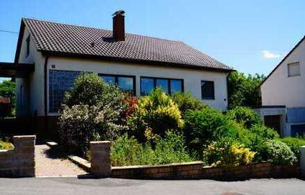 Freistehendes Einfamilienhaus mitten im Grünen in Vaihingen an der Enz - Ortsteil Gündelbach