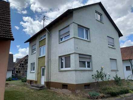 Zweifamilienhaus (155 m2) in Ortskernlage von Baden-Baden / Sandweier, Grundstück 522 m2