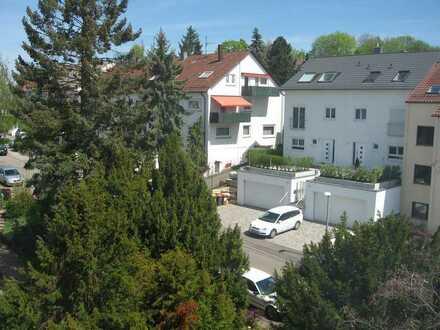 Teilmöbl. 1 1/2-Zi-Whg Stgt.-Killesberg, ruhige Lage, Wochenendpendler bevorzugt