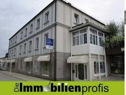 TOP-Lage in Bad Steben: Gewerberäume + Ladengeschäft mit ca. 220 m² (teilbar) zu vermieten