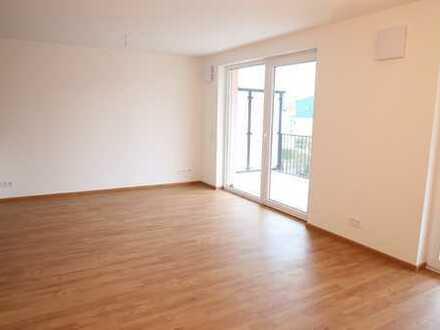Erstbezug einer modernen und exclusiven 2 1/2-Zimmer-Wohnung mit Einbauküche und Balkon