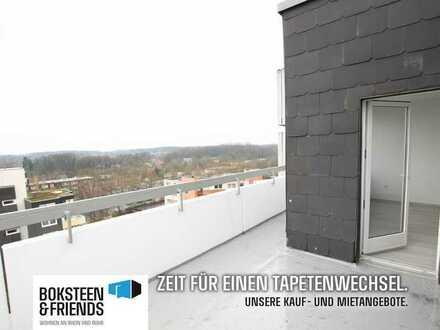 Über den Dächern von Münster! Sanierte Wohnung mit Terrasse!