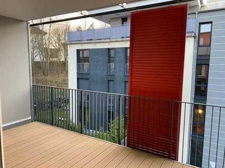 Schöne, helle 4-Zimmer Wohnung in zentraler Lage - zwei Balkone
