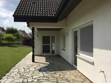 Gepflegte Wohnung mit fünf Zimmern und großzügigem Garten in Bopfingen