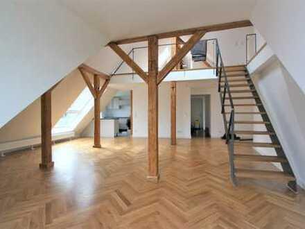 Erstbezug: exklusive 5-Zimmer-Dachgeschosswohnung mit Einbauküche und Dachterrassen in Hannover