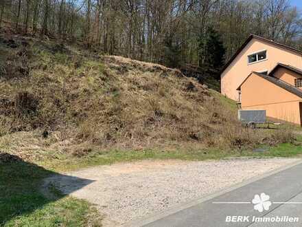 BERK Immobilien - schön gelegenes Grundstück mit Fernblick