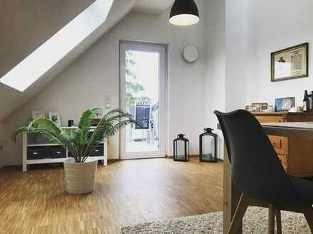 Neuwertige 3,5-Zimmer-Maisonette-Wohnung mit Balkon in Haibach