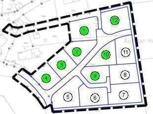 Neues Baugebiet in sonniger und ruhiger Lage in Jakobsweiler
