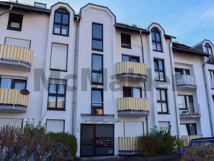 Lichtdurchflutete 2-Zimmer-Maisonette mit sonniger Dachterrasse nahe Heidelberg