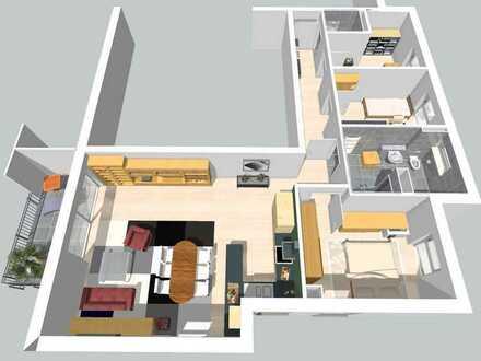 Lichtdurchflutete 4 Zimmerwohnung im Erdgeschoss